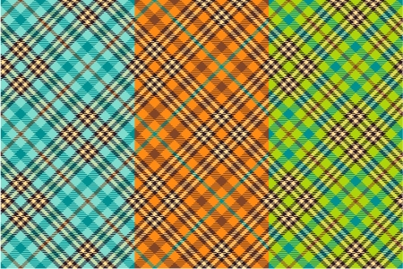 Seamless tartan patterns Stock Vector - 16658443