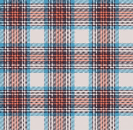 Nahtlose Tartan-Muster Vektorgrafik