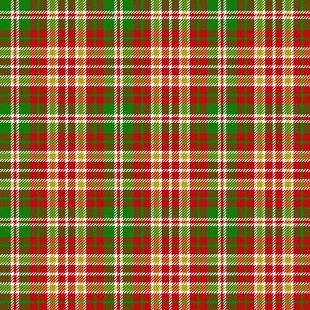 christmas plaid: Christmas tartan pattern Illustration