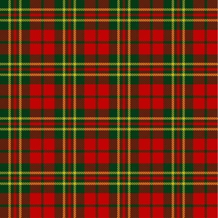irish christmas: X-mas seamless tartan pattern