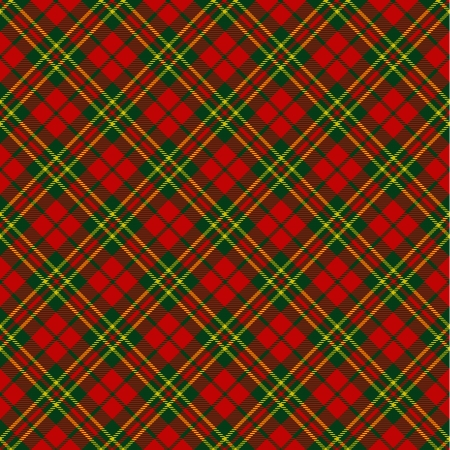 xmas decoration: X-mas seamless tartan pattern