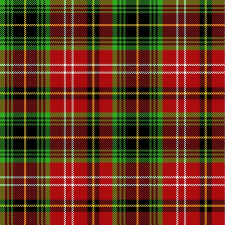 Seamless pattern scozzese Vettoriali