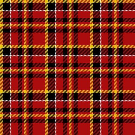 christmas plaid: Seamless tartan pattern