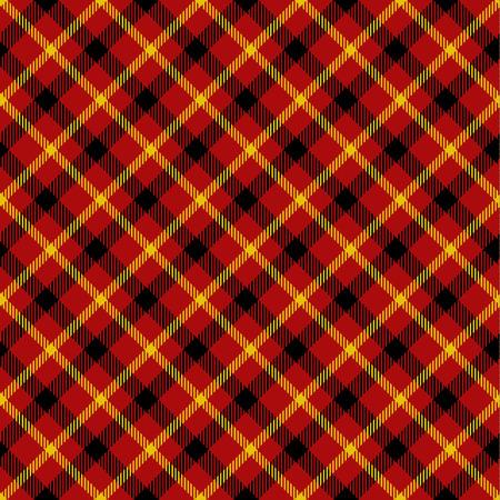irish christmas: Seamless tartan pattern