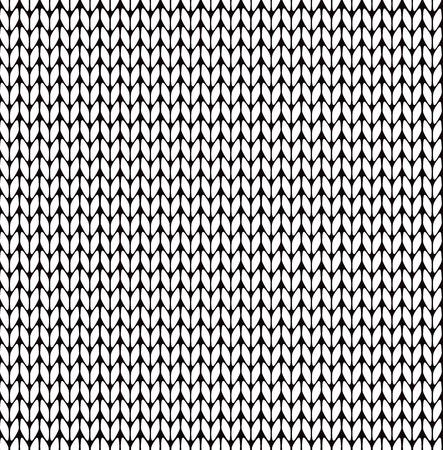 Nahtlose Strickmuster Standard-Bild - 34828294