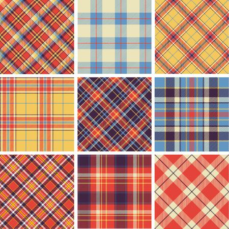 tartan: Seamless tartan patterns