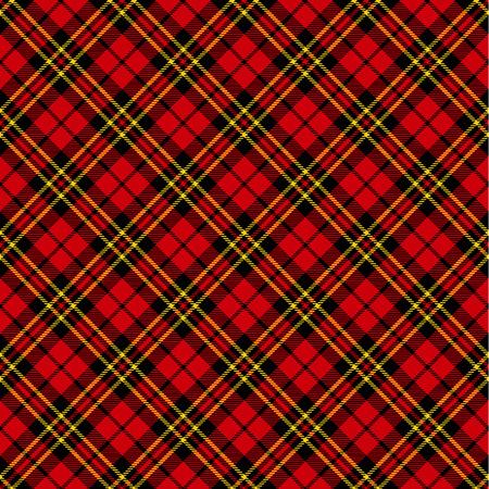 tartan plaid: Seamless tartan pattern