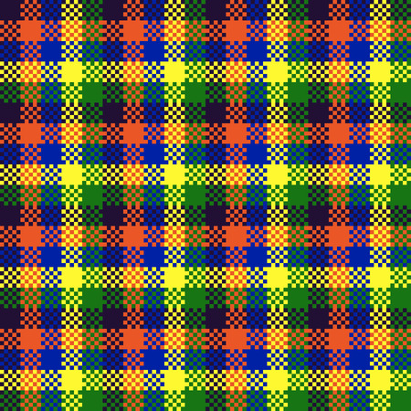 Pixel art conception seamless