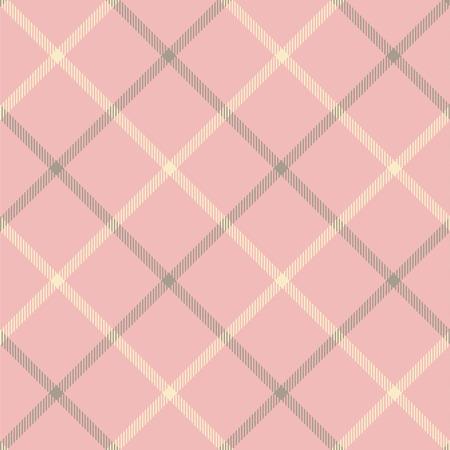 원활한 타탄 벡터 패턴