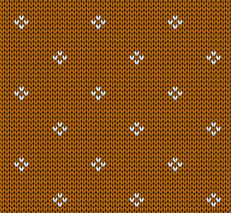 Seamless knitting pattern Illustration