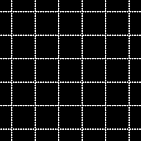 Black and white seamless tartan pattern