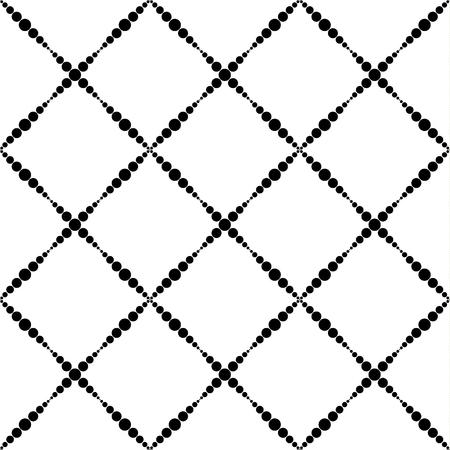 Abstract seamless tartan pattern