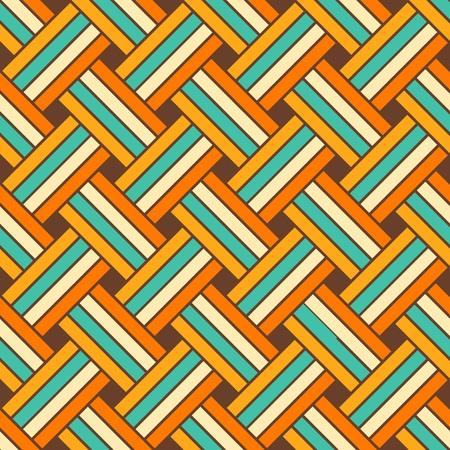 Seamless geometric vector pattern Illustration