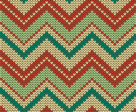 Seamless vector knitted texture Vettoriali