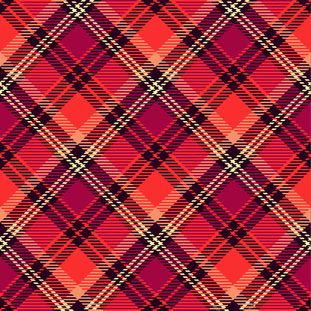 Seamless tartan vector pattern.