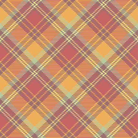 Seamless tartan pattern vector illustration.