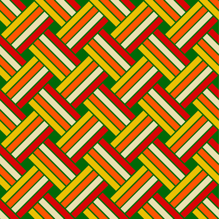 Seamless geometric vector pattern  イラスト・ベクター素材