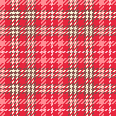 Seamless tartan vector pattern design