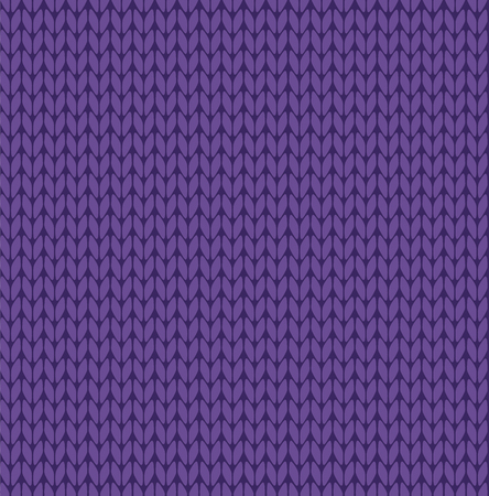 Seamless vector knitting pattern