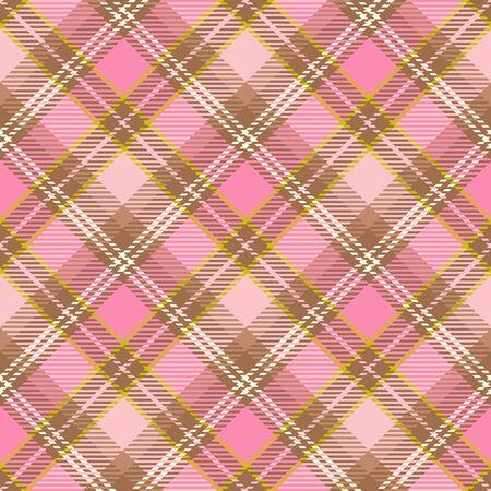 Seamless christmas tartan pattern