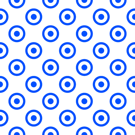 Simple seamless circle pattern illustration