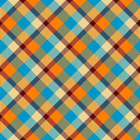 Seamless tartan vector pattern illustration