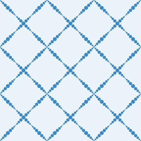 Abstract seamless vector tartan pattern