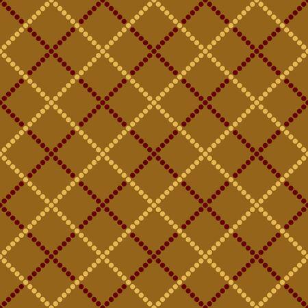 Seamless absract vector tartan pattern