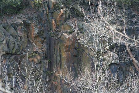 Mountain Rock (color Photo) Standard-Bild