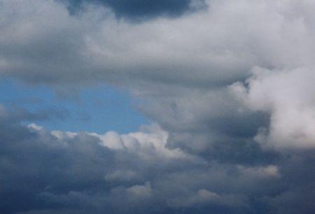 Colorful Cloud Swirls Standard-Bild