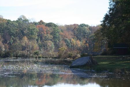 Colors along the lake in Towhe Indian Creek