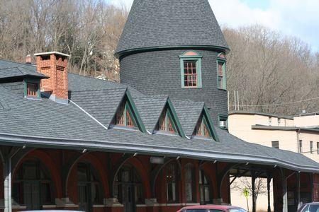 Historical building Standard-Bild