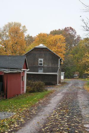 Historical barn Standard-Bild