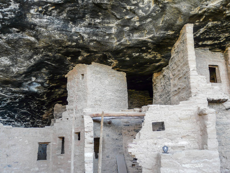dwelling house: Dwelling house in Messa Verde cave