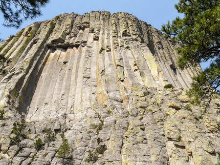 encounters: Famous Devils Tower National Monument in Wyoming, USA played main role in Close Encounters of the Third Kind.