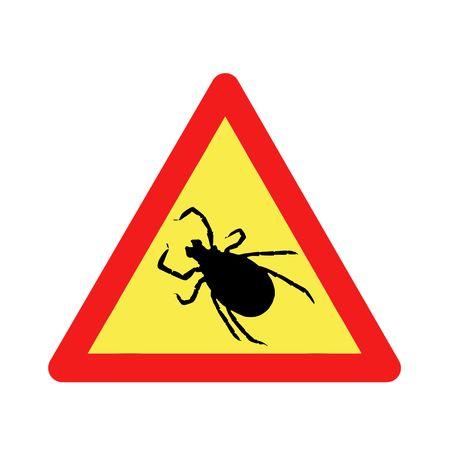 triangular warning before ticks sign