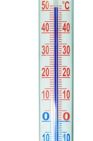 showing high temperature thermometer Stock Photo - 13546006