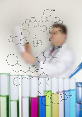 petrochemistry: mostrando en la hoja de papel algo m�dico