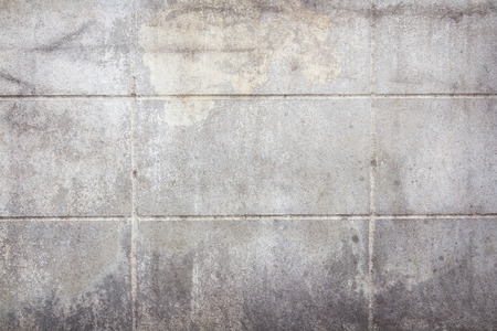 block: old concrete block wall background texture Stock Photo