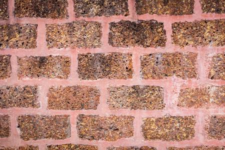 laterite: laterite wall