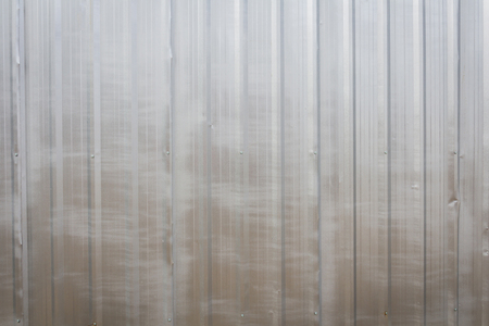 grooved: The zinc wall,background Stock Photo
