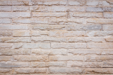 decorate: Background of decorate sand stone wall surface Stock Photo