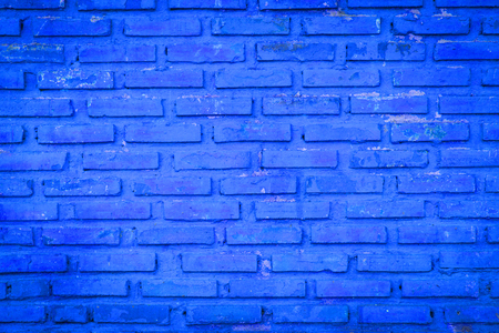 blue backgrounds: Old blue brick wall backgrounds