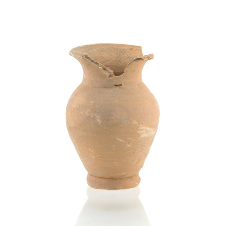 earthenware: vase isolated on with background Stock Photo
