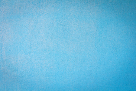Textures on the blue wall, for background. Stock Photo