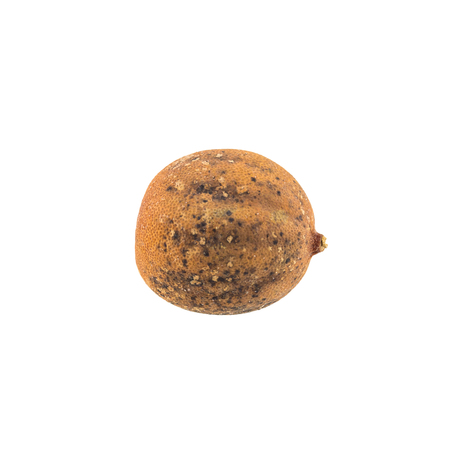 Rotten lemon isolated on white background Stock Photo