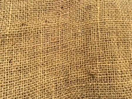Brown sack fabric texture background 版權商用圖片
