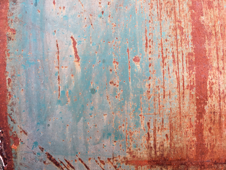 Old rusted old metal sheet and eroded on background