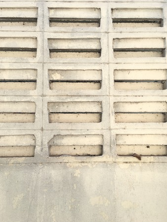 Old concrete block wall background texture