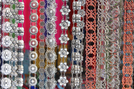 silver plated: Silver plated belt thailand
